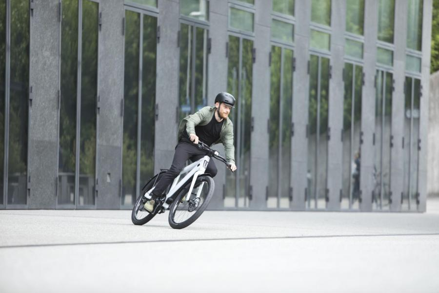 Riding an Arval E-Bike